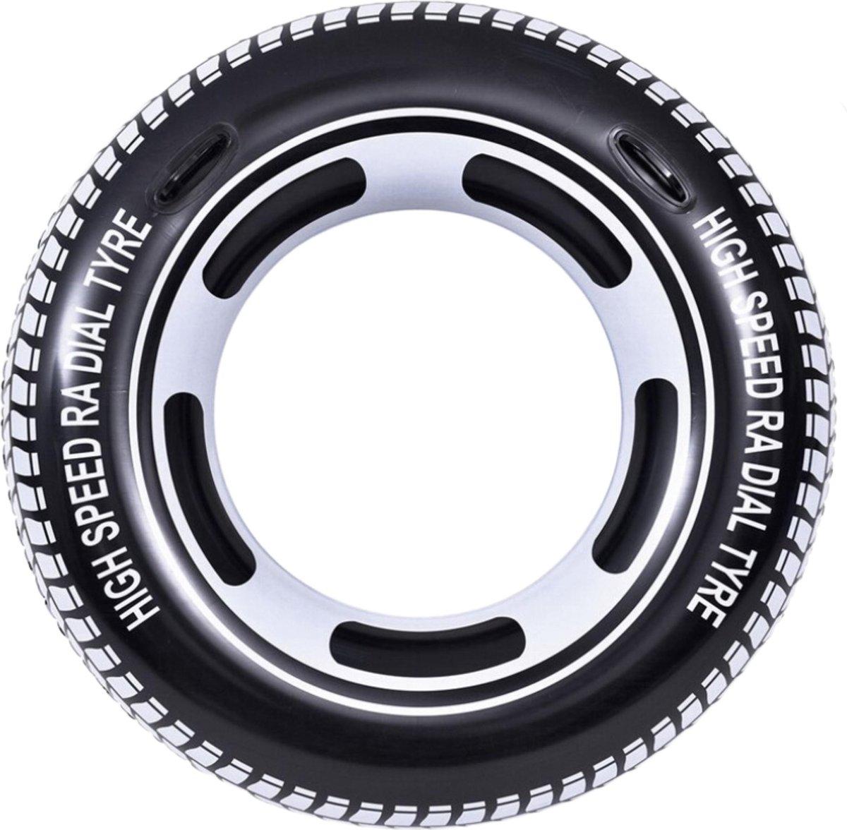 Orange85 Zwemband Tyre - Autoband - Rond - 115 cm - Extra Groot - Large - Waterspeelgoed