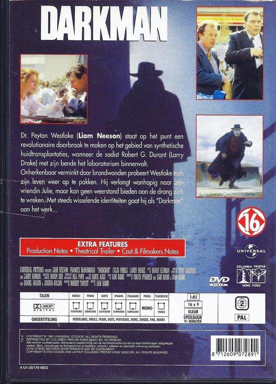 Cover van de film 'Darkman'
