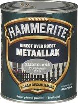 Hammerite - Metaallak - Zijdeglans - Zilvergrijs - 750 ml