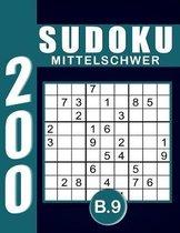 Sudoku Erwachsene Mittelschwer Band 9
