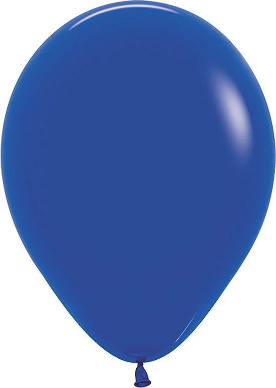 Sempertex ballonnen 30cm blauw 50 stuks