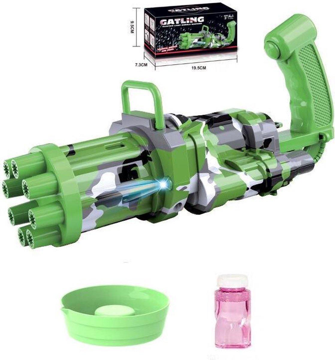 Bellenblaas pistool - Bubble gun - Bubble blaster - elektrische bellenblaas - bellenblaasmachine - bellenblaas speelgoed - werkt op AA batterijen