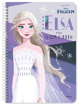Disney Notitieboek Frozen 2 Junior 25 X 17 Cm Papier Paars