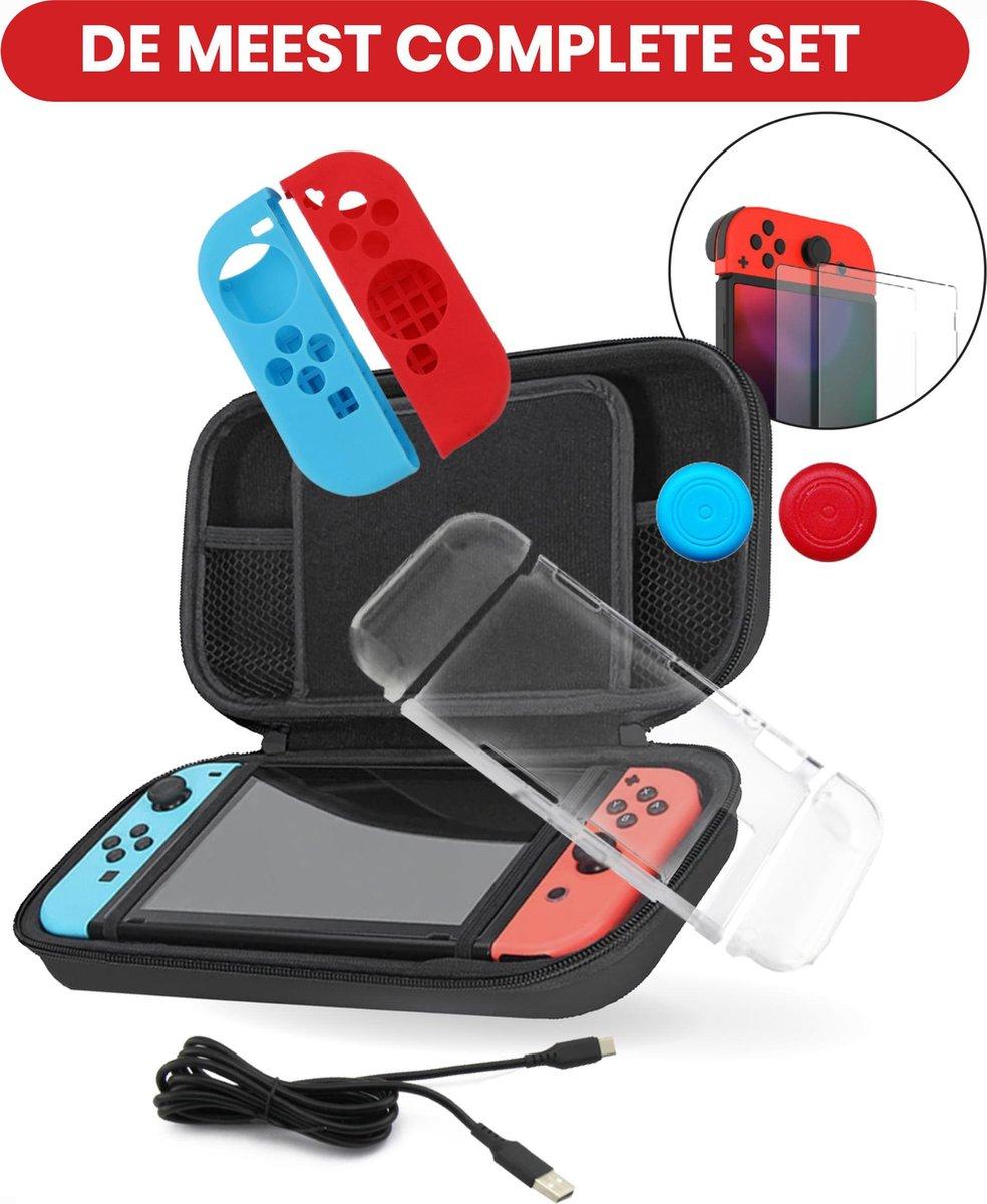 Nintendo Switch Accessoires - Switch Controller en Console - Switch Case - Screenprotector - Joy Con