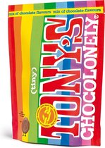 Tony's Chocolonely Tiny Limited Edition - chocolade cadeau - chocoladesnoepjes - mini chocolaatjes - Tony's mini mix - chocolade bonbons - 320 gram