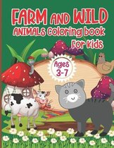 Animal Coloring Book for Kids Ages 3-7