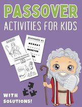 Passover Activities for Kids with Solutions!
