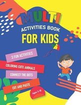 Multi Activities Book For Kids