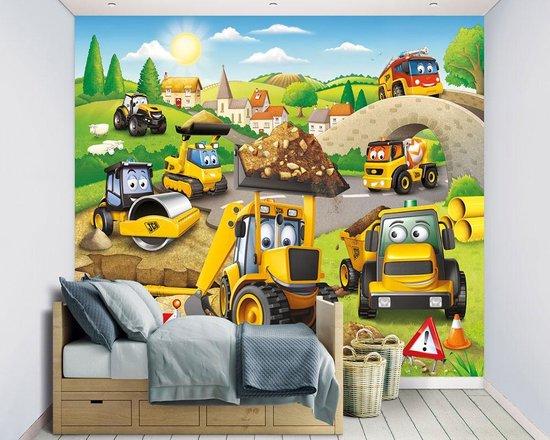 Walltastic Kinderbehang My 1st JCB - kinderkamer - 305 x 244 cm - walltastic