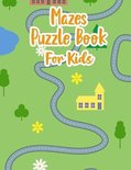 Mazes Puzzle Book For Kids