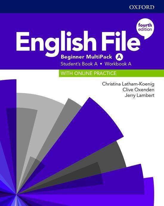 Boek cover English File - Beginner (fourth edition) Students book mult van Christina Latham-Koenig (Paperback)