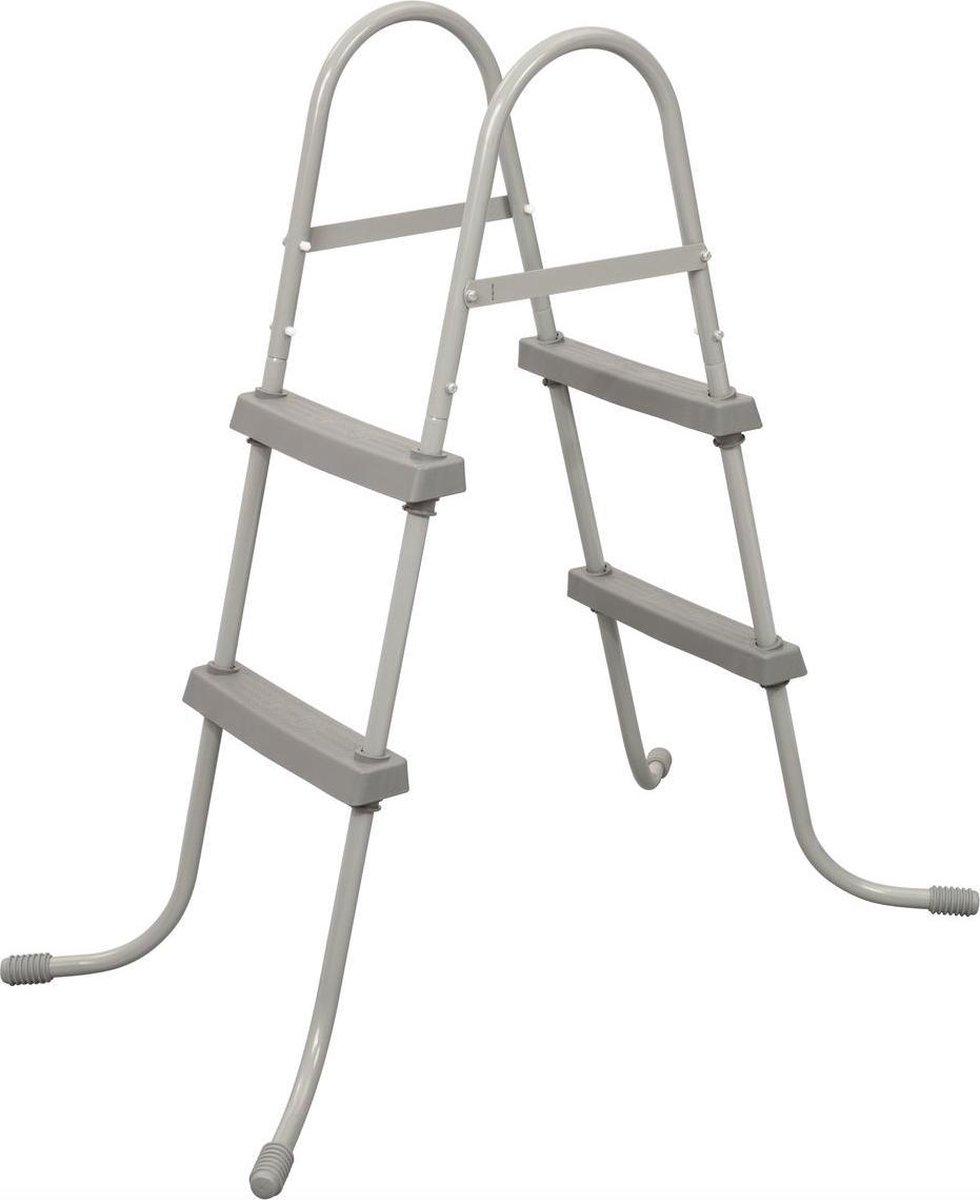 Bestway Zwembadladder - Zwembadtrap 84cm - Zwembadladder 84cm - Zwembadtrap - Zwemtrap - Zwembadtrap Bestway - Zwembadtrapje 84cm - Zwembad Ladder