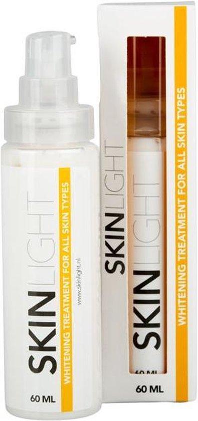 Skinlight Huidbleekcreme - 60ml - Alle Huidtypes - Maakt de huid tot 3 tinten lichter