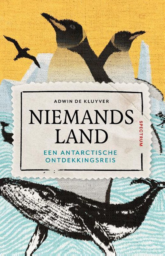 Boek cover Niemandsland van Adwin de Kluyver (Hardcover)