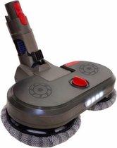 Elektrische DATO Vloer Mop | Aansluit Kop Voor al uw Vloerreiniging | Nu Inclusief Water Tank | Voor Optimaal Gebruik van uw Stofzuiger | Alles in 1 reiniger