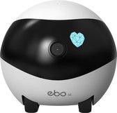 Enabot EBO SE | Jouw Smart Katten Gezelschap | Bestuurbaar en rijdende robot | Elektrisch Kattenspeelgoed | Interactief Speelgoed Katten