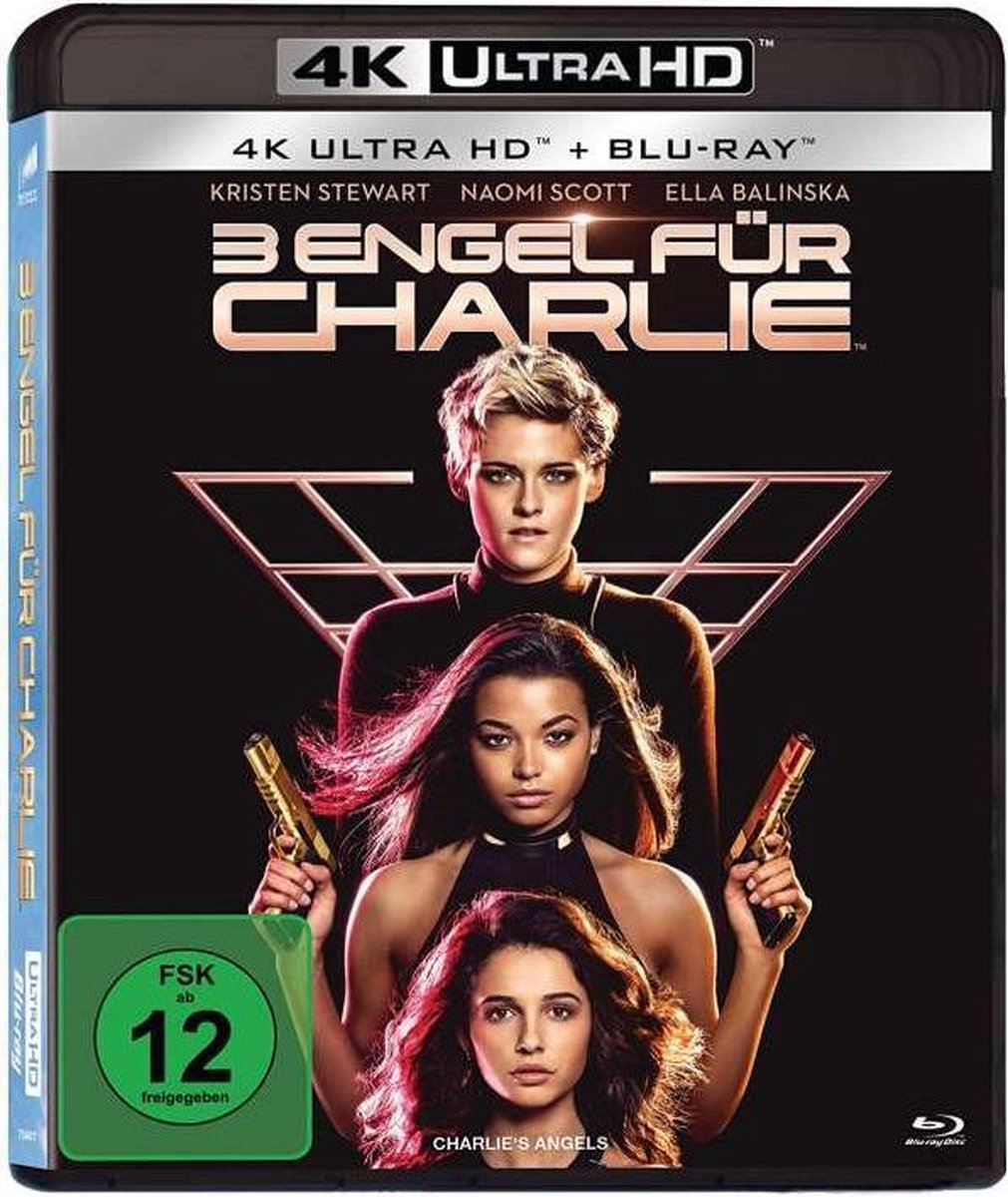 Charlie's Angels (2019) (Ultra HD Blu-ray & Blu-ray)-