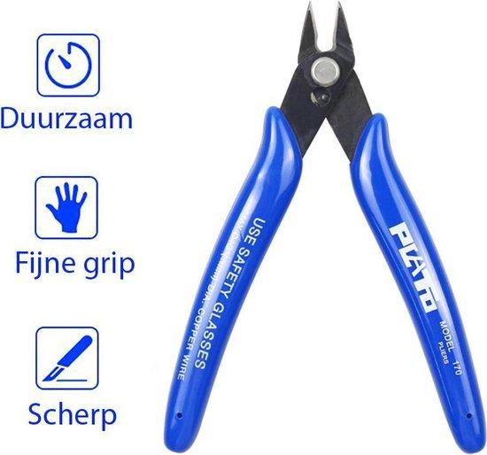 Plato Mini Kniptang Zijsnijtang Zijkniptang  -  3D Pen / Printing - Sieraden Maken / Kralen - Elektronica - Hengelsport - Modelbouw
