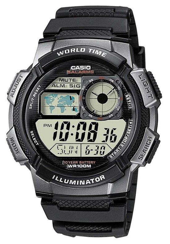 Casio Collection Heren Horloge AE-1000W-1BVEF - 43.7 mm