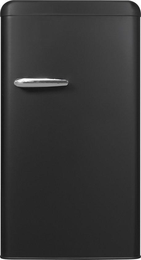 Koelkast: Exquisit RKS100-V-H-160FMZ -  koelkast Vrijstaand - Zwart, van het merk Exquisit