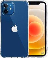 iPhone 12 hoesje en iPhone 12 Pro hoesje shock proof case siliconen transparant hoes - apple hoesjes cover