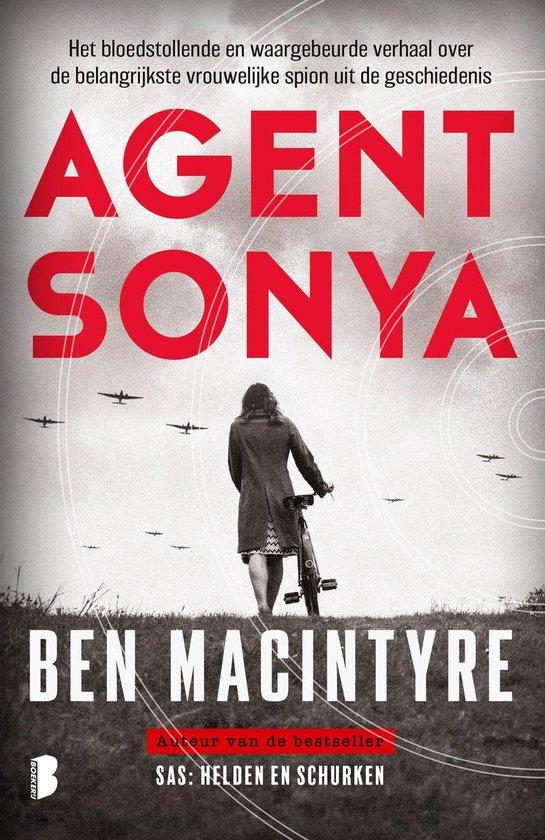 Boek cover Agent Sonya van Ben Macintyre (Onbekend)