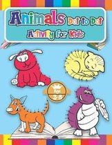 Animals Dot to Dot Activity for Kids Ages 4-8