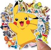 Pokemon stickers + GRATIS GROTE POKEMON FOLIE BALLON - 500 Stuks - Pikachu - Pokemon speelgoed - Pokemon plaatjes - Stickers volwassenen - Stickers kinderen - Laptop stickers - Pokemon go