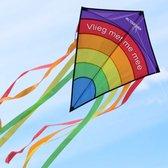 Diamond Vlieger met draagtas - Vlieger voor kinderen - Kite vlieger