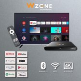 Botech Wzone Android TV Box 4K  - UHD Mediaplayer - Netflix, YouTube, Prime Video, en Disney plus