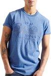 Superdry T-shirt - Mannen - Blauw