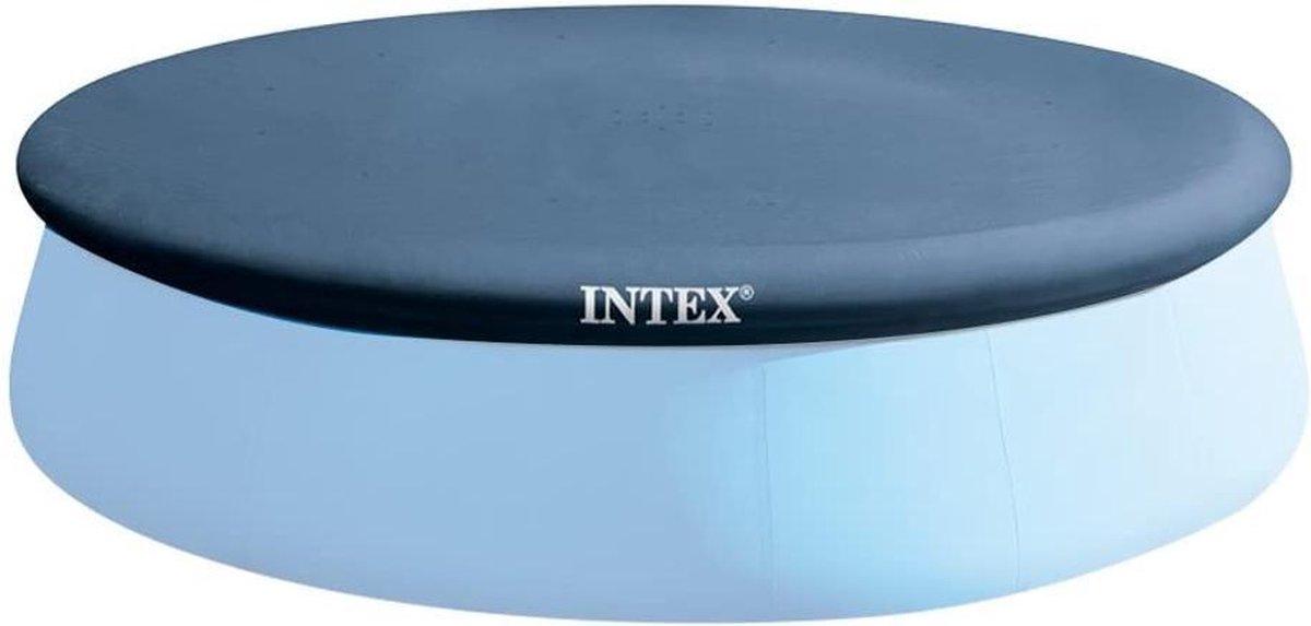 Intex Afdekzeil 28023, voor Easy Set Pools, 457 cm, donkerblauw