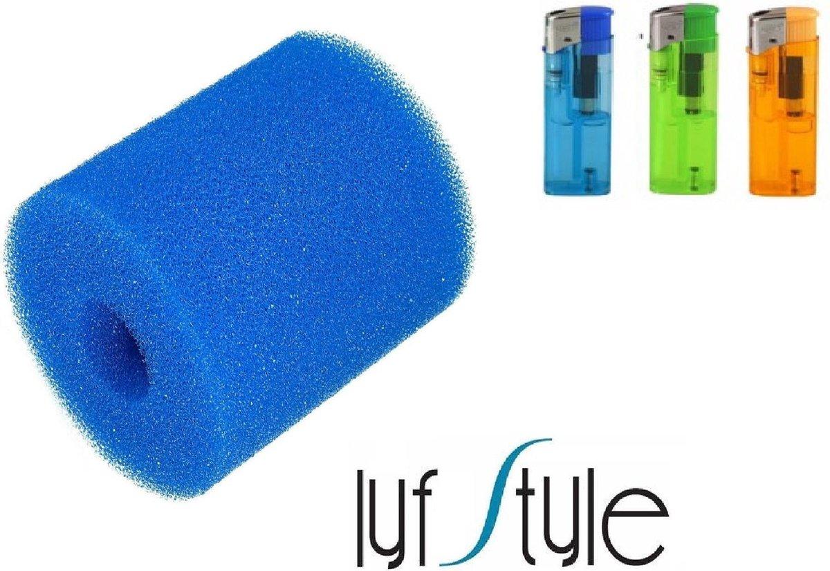Type H / I Filter - Herbruikbaar en Uitwasbaar - Voor Intex & Bestway Zwembaden + Serviceboek & 1 BBQ Matje (Actie!)