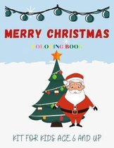 Coloring Book Merry Christmas Kit For Kids Age 6 And Up