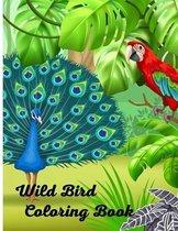 Wild Bird Coloring Book