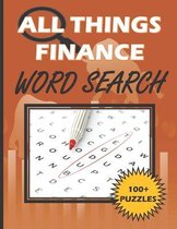 All Things Finance - Word Search Puzzle Book