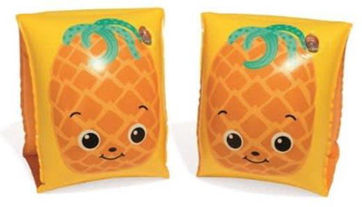 Bestway zwembandjes - Ananas - 5-12 jaar - 15 x 30cm