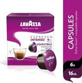 Lavazza Espresso Intenso Dolce Gusto Compatible 6 x 16 capsules