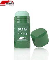 Huizing Products Uiercreme - Green Mask Stick - Huidverzorging - Gezichtsmasker - Natuurlijke producten - verzorgend - verkoelend - hydraterend - black head verwijderen -  mee-eters - verzachtend