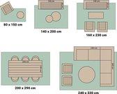 Buitenkleed - Summer Pattern Roze 80x150cm