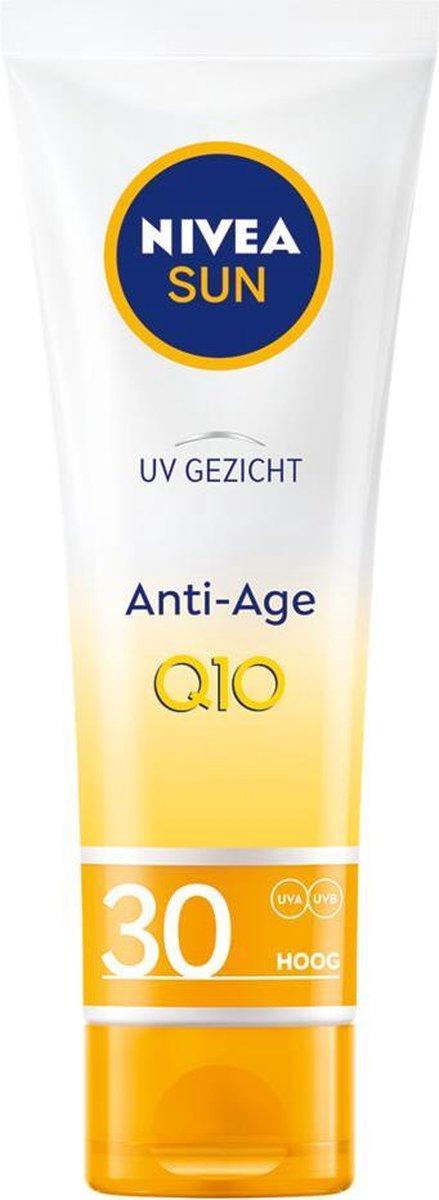 NIVEA SUN Gezicht Anti-Age & Anti-Pigmentvlekken Zonnecr me SPF 30 - 50 ml