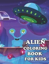Alien Coloring Book For Kids
