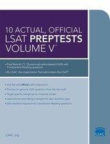 10 Actual, Official LSAT Preptests Volume V