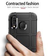 Mobigear Rugged Shield TPU Backcover voor de Samsung Galaxy A40 - Bruin