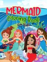 Mermaid Coloring Book for Kids