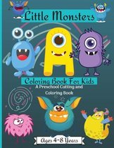 Little Monsters Coloring & Activity Book for Kids