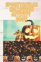Spooktacular Halloween Activity book