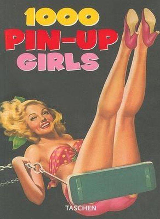Cover van het boek '1000 Pin-up girls' van Gilles Neret