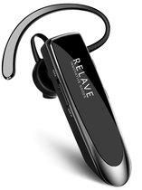 Zakelijke 5.0 Bluetooth headset Relave - Office - Auto - Werk - Zwart - Handsfree bellen - GSM - 24 uur bellen