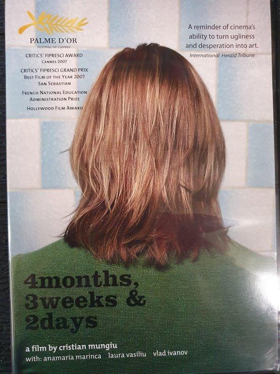 Cover van de film '4 Months 3 Weeks 2 Days'